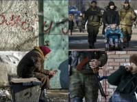 Дебальцево под властью ДНР: очереди за гуманитаркой и автоматчики возле детей