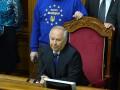Рыбак открыл заседание Рады, несмотря на блокирование трибуны оппозицией