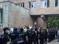 В Харькове на акции протеста чернобыльцы избили полицейских