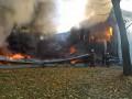 В Киевской области сгорела детская спортивная школа