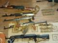 Полиция изъяла арсенал оружия в центре Киева