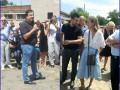 Саакашвили вместе с Собчак проверил поля под Одессой