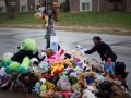 В Фергюсоне разрушили мемориал в память о застреленном подростке