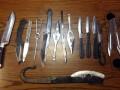 В метро Киева у мужчины нашли более десятка ножей
