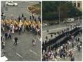 Крестный ход парализовал движение в центре Киева