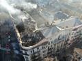 Пожар в Одессе: Завотделением, увидев дым кабинете, заперла дверь