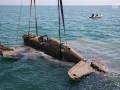 В районе строительства Керченского моста со дна пролива подняли истребитель времен ВОВ