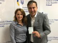 Саакашвили получил удостоверение от консула и уехал в аэропорт