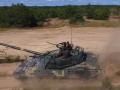 Украина испытывает модернизированный танк Т-72АМТ