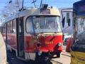 На Троещине трамвай врезался в троллейбус