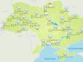 В Украину пришли сильные ливни