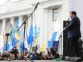 Михомайдан: Саакашвили призвал Порошенко уйти в отставку