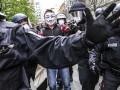 В Берлине на акции протеста задержали более 100 человек
