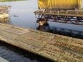 На Днепропетровщине не возобновили движение на месте рухнувшего моста