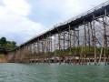 В Таиланде рухнул самый длинный в мире деревянный мост