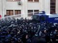 Протестующих в Тбилиси разогнали водометами