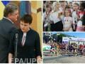 Неделя в фото: освобожденная Савченко, Последний звонок в школах и Пробег под каштанами в Киеве