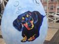 С выставки на Софийской площади украли уникальную писанку