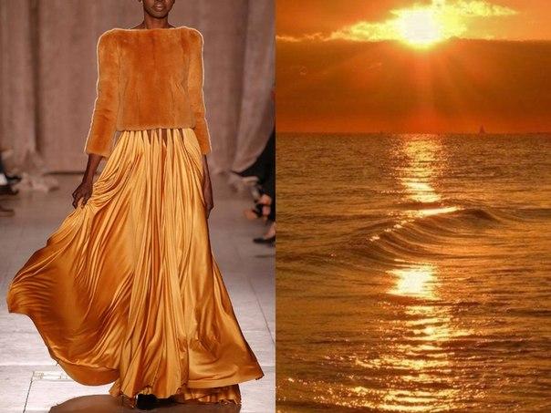Платья, вдохновленные красотой природы