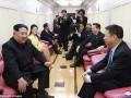 СМИ показали секретный поезд Ким Чен Ына изнутри