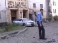 Жилые кварталы Донецка попали под обстрел, есть жертвы (видео)