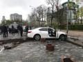 Появилось видео задержания фейкового кабминовца в центре Киева