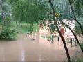 В Чернигове ливень затопил канализационную станцию
