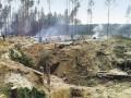 В Житомирской области правоохранители пресекли незаконную добычу янтаря