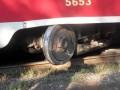В Киеве трамвай сошел с рельсов: четыре маршрута заблокированы