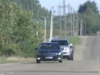 Кортеж Саакашвили остановили за нарушение правил