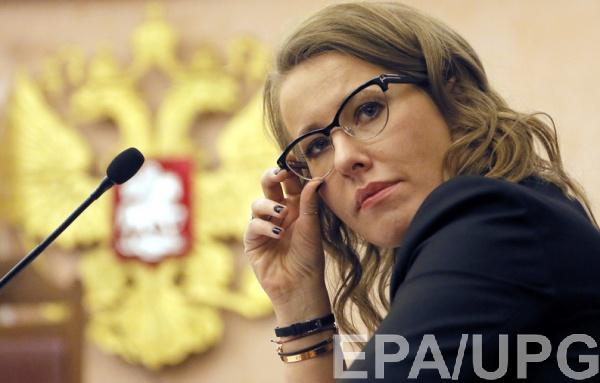 Собчак обратилась в посольство Украины за разрешением на поездку в Крым