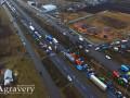 Аграрии блокируют дороги, протестуя против новых налогов