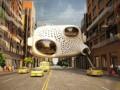 В Нью-Йорке хотят соорудить подвесную гостиницу в форме сердца