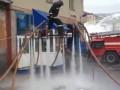 Российский пожарный соорудил