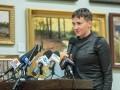 Савченко увидела в боевиках загнанных и измученных войной людей