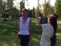 Семья Порошенко в поддержку флэшмоба облилась холодной водой (видео)