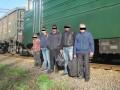 Харьковские пограничники поймали нелегалов, ехавших в РФ в товарняке