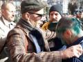 В горсовете Киева облили зеленкой и забросали яйцами депутата Гусовского