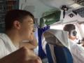 Возвращение: появились фото, как Савченко летела домой