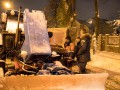 Кличко проверил, как убирают столицу от снега
