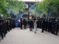 В Покровске полиция взяла под охрану комиссию округа №50
