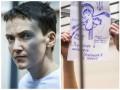 Украинские врачи попали к Савченко