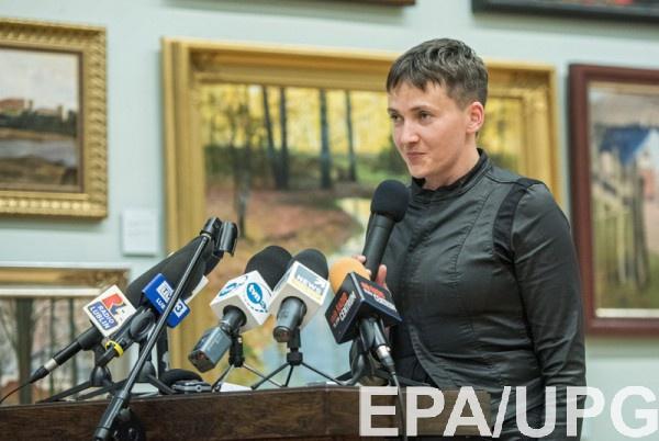 Савченко выступила в Музее Берлинской стены