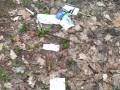 Данные о клиентах банка нашли разбросанными в лесу (ВИДЕО)