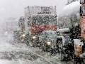 Полиция: На Киевщине коллапс из-за снегопада