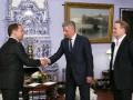 Медведчук и Бойко в Москве встретились с Медведевым и партийцами