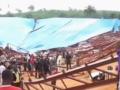 Десятки человек погибли в результате обвала крыши в Нигерии