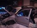 В Киеве подожгли авто, машина взорвалась