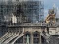 Пожар в Нотр-Даме: рабочие курили на строительных лесах