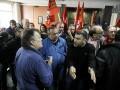 Протестующие взяли штурмом Минтруда в Афинах